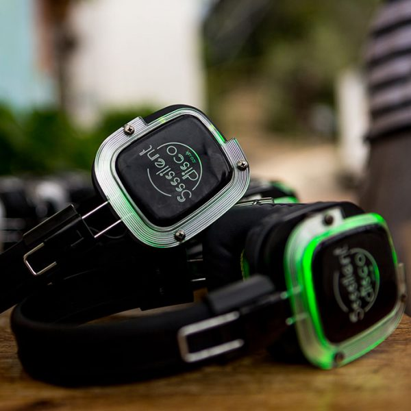 silent disco yoga double ticket product